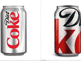 健怡可乐的限量版新形象包装设计欣赏