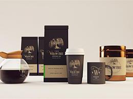 柳树咖啡包装设计