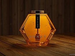 Honey蜂蜜产品包装设计-Honey