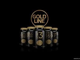 GOLD LINE黃金線品牌和包裝設計