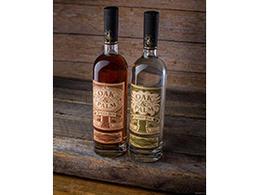 圣彼得堡酒厂橡树棕榈酒椰子朗姆酒包装瓶贴标签设计