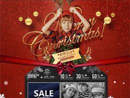 hoo童装圣诞节首页页面