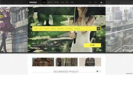 PRECISE時尚服裝商場網站設計