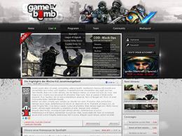 eqoo游戏社区类网页设计欣赏