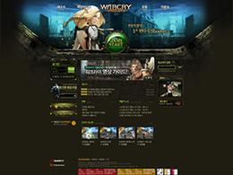 GAME-韩国游戏网页设计