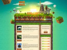 烏克蘭 LLIARK游戲網頁設計作品