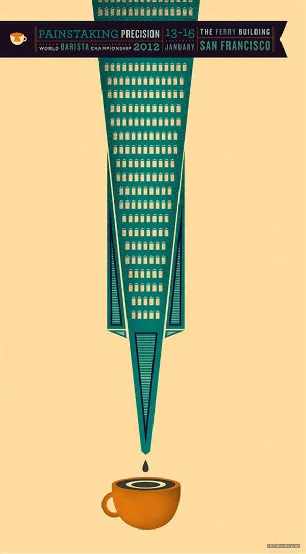 6月国外矢量海报设计