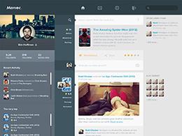 扁平化风格UI界面设计