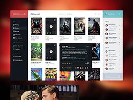 电影服务的用户界面