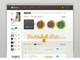 个人信息统计UI界面设计