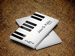 8个音乐名片设计