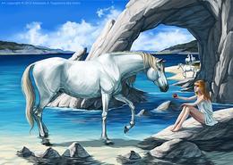 俄罗斯Anasis漂亮的动物插画欣赏