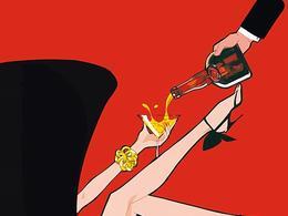 Grand Marnier酒商業插畫欣賞