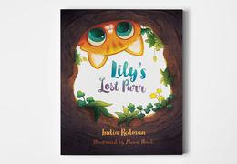 《Lily's Lost Purr》兒童書籍插畫設計
