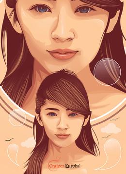 印尼Cratoez Kuroba漂亮的人物插畫作品