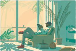 瑞典Jeff Ostberg杂志插图设计作品