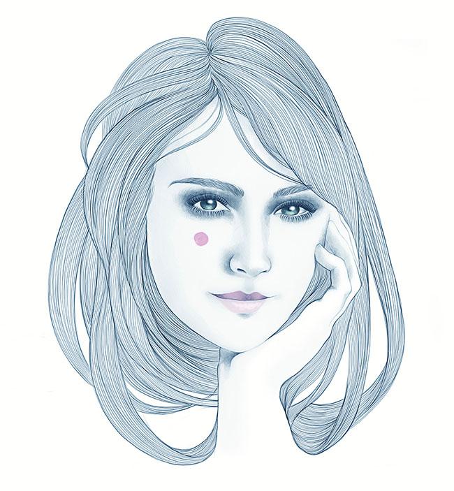 Mercedes deBellard精细的人物插画作品欣赏(三)