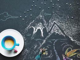 藝術家Cinzia Bolognesi的唯美手工插畫