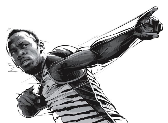 巴西Cristiano Siqueira矢量人物插画作品