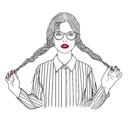 26幅個性肖像速寫作品