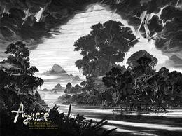 Aguirre暗黑系风格插画作品欣赏