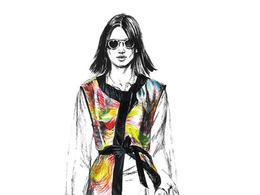 Diana Kuksa手绘时尚模特插画作品欣赏