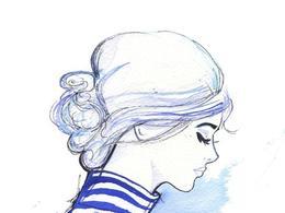 美国Jessica Durrant水彩美女插画设计
