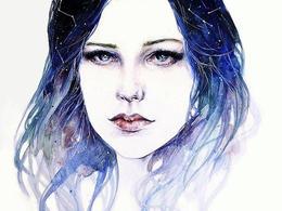 Moi Tea Spears肖像插畫作品欣賞