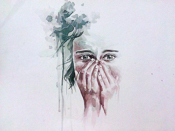 Ceino Rey Quimintan水彩肖像插畫欣賞