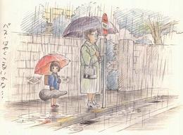 宫崎骏40年动漫手稿作品欣赏