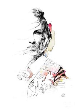 Spiros Halaris时尚手绘人物插画欣赏