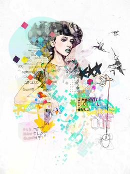 比利时Raphael Vicenzi人物插画作品欣赏