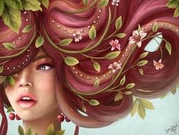 哥伦比亚女插画师Sara Isabel Hoyos主题插画:四季
