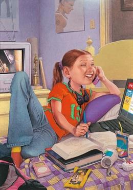 Richard Solomon科技时代系列主题插画欣赏