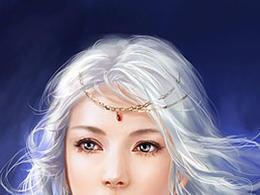 中国式美女插画设计欣赏