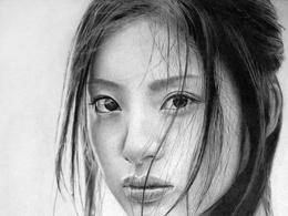 Ken Lee令人印象深刻的铅笔画作品
