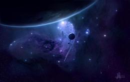 16張逼真的太空場景概念CG作品