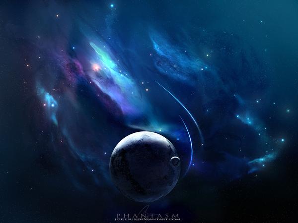 16张逼真的太空场景概念CG作品
