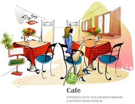 韩国插画师anne现代时尚插画欣赏