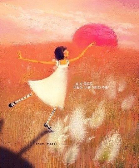 韓國MIZZI插畫作品