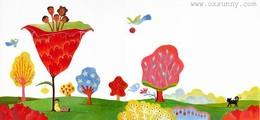 韩国oxsunny童话风格的插画欣赏
