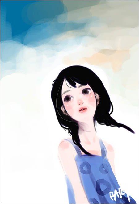 韩国Bary插画作品欣赏(一)