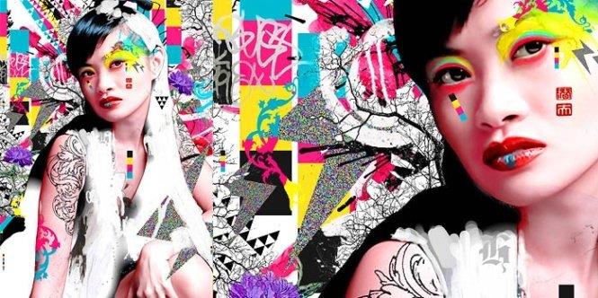 澳大利亚drewflaherty时尚前卫插画欣赏