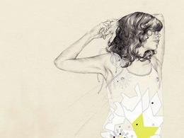 瑞典carlstedt时尚的时装插画