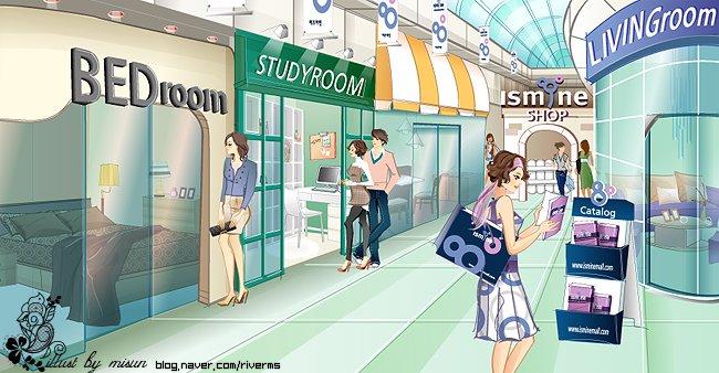 韓國misun現代時尚插畫