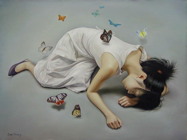 WangNiandong时尚插画作品
