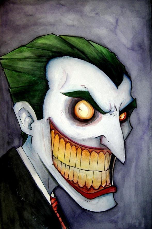 40張小丑的插畫欣賞