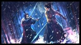 忍者和武士插畫欣賞