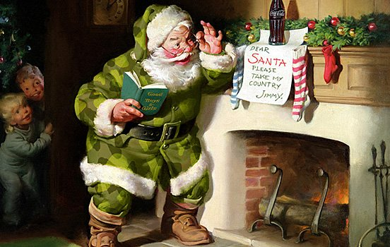 45张圣诞节插画欣赏