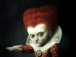 《爱丽丝梦游仙境》角色概念艺术设定